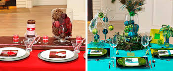table decoration for christmas inspirational table decorations for christmas 9