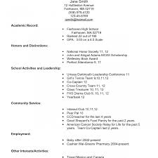 high school graduate resume exles college student resumes for study inside current template resume
