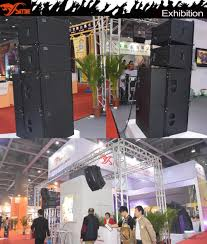 skytone designed vera12 line array speaker wedding decoration