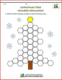 christmas maths worksheets key stage 3 christmas math worksheets