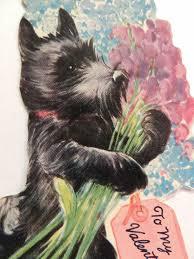 558 best vintage scottie westie illustrations ads cards