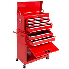Rolling Tool Cabinets Portable Top Chest Rolling Tool Storage Box Cabinet Sliding