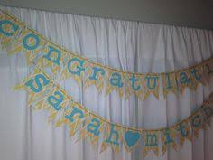 congratulations engagement banner custom engagement banner engagement party decorations by