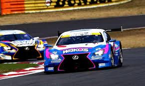 lexus rc f gt500 lexus rc f shines in pre season gt test sessions lexus