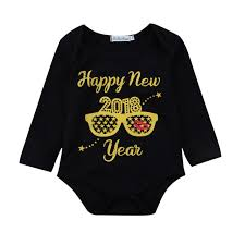 new year baby clothes 2018 new year baby clothes christmas baby letter print