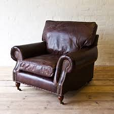 vintage distressed leather armchair house junkie