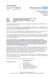 sample housekeeper cover letter nursing supervisor resume