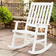White Rocking Chair Outdoor by Home Styles Bali Hai Outdoor Rocking Chair 5660 58x