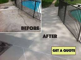 How To Resurface Concrete Patio Home All Concrete Resurfacing Sundek In Louisville Ky Concrete