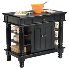 home styles americana black kitchen island hayneedle