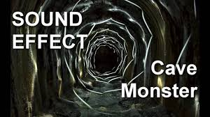 List Of Halloween Monsters by Scary Cave Monster Sound Effect Youtube
