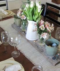 Wohnzimmer Tisch Deko Tisch Decken Mit Sackleinen Freshouse