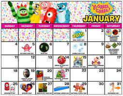yo gabba gabba 2015 calendar yo gabba gabba live