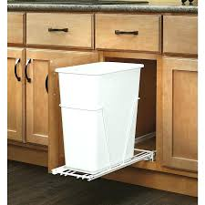 storage bins double trash bin storage table kitchen island can
