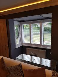 shutters for square bay windows bramley blinds and awnings