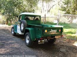 jeep truck parts used jeeps and jeep parts for sale 1962 willys jeep truck