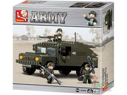 lego army humvee sluban m38 b9900 sluban army hummer light recon vehicle