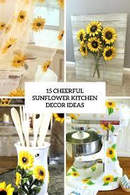 Kitchen Sunflower Decor Amazon – stewroushte