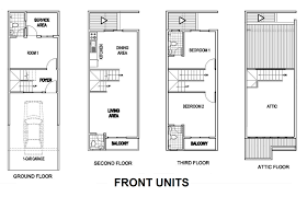 townhouse floor plan philippines
