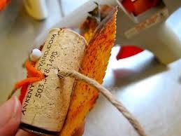 create turkey wine cork napkin holders for thanksgiving homejelly