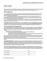 rental lease agreement u0026 rental agreement forms ez landlord forms