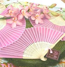 wedding fan favors wholesale wedding favors party favors by event blossom colored
