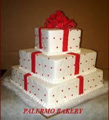 christmas wedding cake ideas