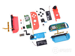 nintendo switch teardown ifixit