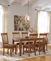 plank dining table and chairs rustic