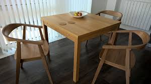 stockholm natural finish dining table new ikea stockholm dining chairs and bjursta table flat packed