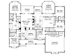 5 bedroom single story house plans single floor house plans stunning 5 bedroom one story house plans