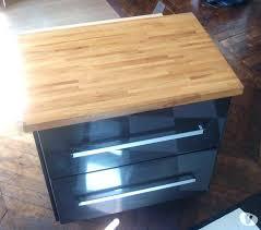 meuble de cuisine avec plan de travail pas cher meuble plan travail cuisine cuisine bois et plan de travail noir