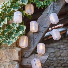Outdoor Solar Fairy Lights by 10 Warm White Led Chinese Lantern Solar Fairy Lights Lights4fun