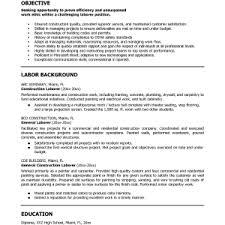 Sanitation Worker Job Description Resume by Sample General Laborer Job Description Cover Letter Divine Laborer