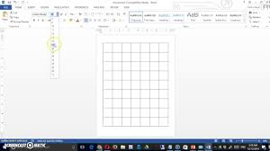 ms office creating a board game in word youtube
