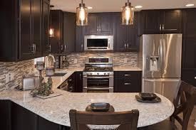 Kitchen Backsplash Espresso Cabinets Of Designespresso Shaker - Espresso cabinets kitchen
