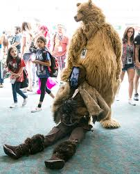 adam and costume the revenant mauls comic con adam savage s best costume yet