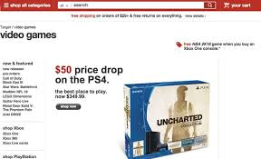 target ps4 games black friday vg247 in arrivo un taglio di prezzo di ps4 per il mercato americano