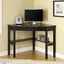 finley home gray corner laptop writing desk with optional