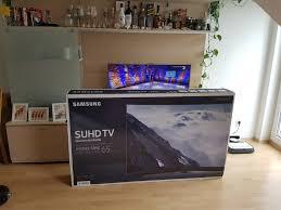 Fernseher Im Bad Samsung Ks9590 Der 65 Zoll Suhd Tv Im Unboxing 4k All About