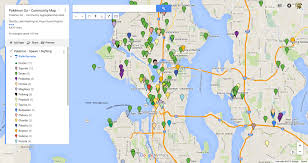 Seattle Washington Map by Gotta Catch U0027em All A Community Map Of Pokemo