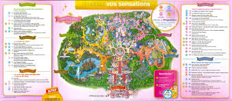 New Orleans Streetcar Map Pdf by Plan Des Parcs Disneyland Paris Programme Hello Disneyland