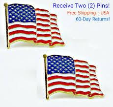 American Flag Regulations American Flag Pin Ebay