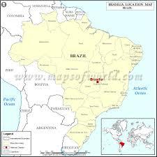 map of brasilia where is brasilia location of brasilia in brazil map