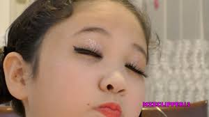Challenge In Nose Out You Ll Need To Out The Glitter For This Kid Makeup Challenge