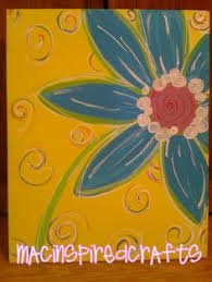 spring painting ideas spring and summer easy canvas painting ideas google search