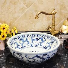 online get cheap round white vessel sink aliexpress com alibaba