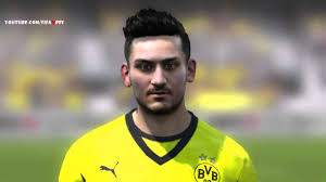 gundogan hair fifa 14 ilkay gundogan face borussia dortmund hd 1080p youtube
