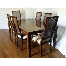 Henredon Dining Room Set by Vintage Henredon Campaign Dining Set Chairish