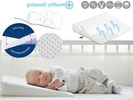 baby matex cot safety aero wedge cot pillow 40 x 36 cm amazon